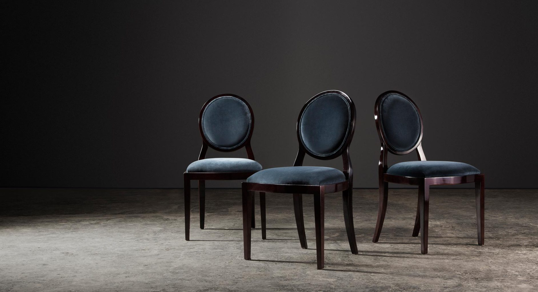 Elegant solid wood Sandton chairs by Pierre Cronje