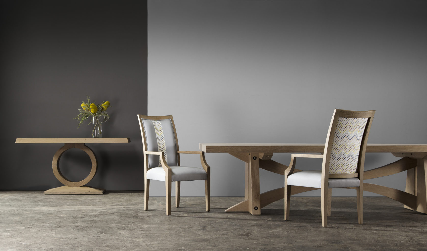 Contemporary solid wood furniture by Pierre Cronje