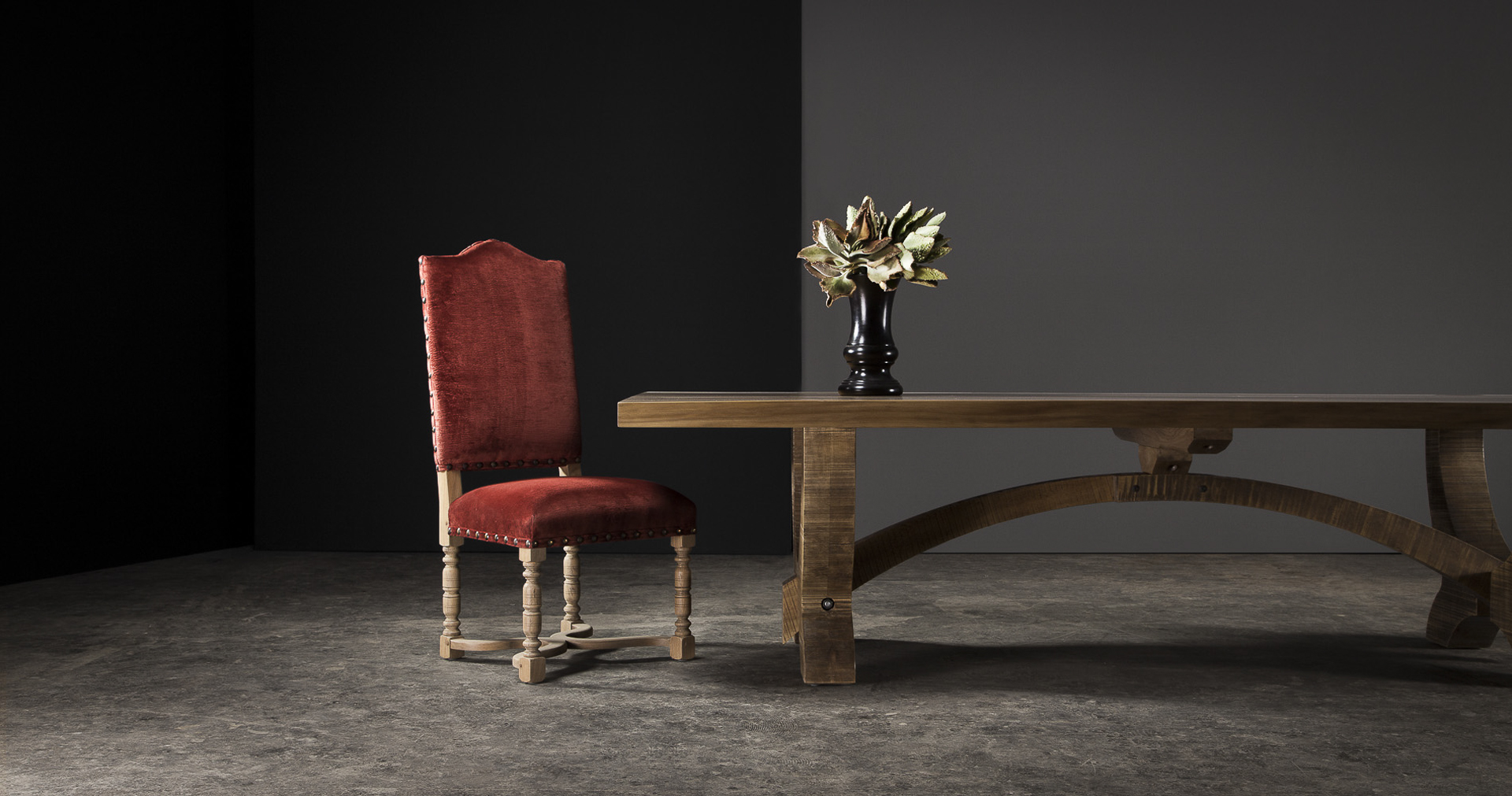 Solid wood heritage furniture by Pierre Cronje