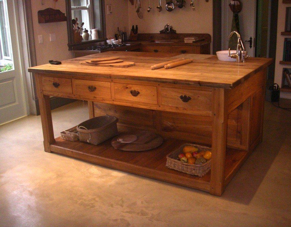 Kitchen units islands butcher 39 s blocks pierre cronje for Booth kitchen island
