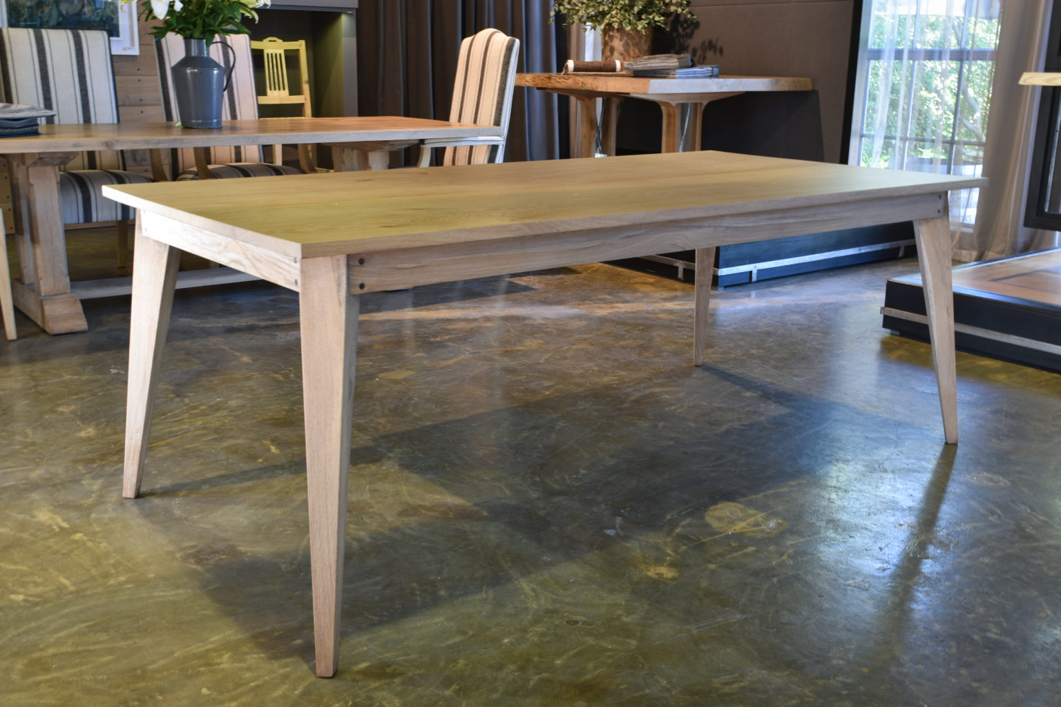 Solid Wood Dining Tables Pierre Cronje
