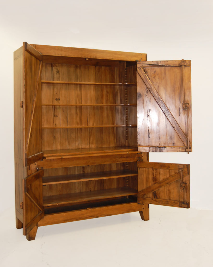 Pierre cronje solid wood cupboards for Furniture making courses