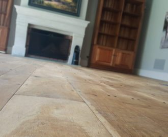 Standard French Oak Floors with French Nails